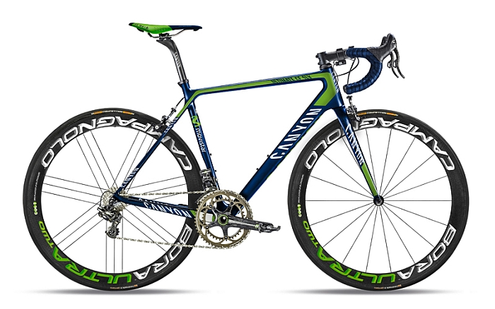 Movistar Canyon bike