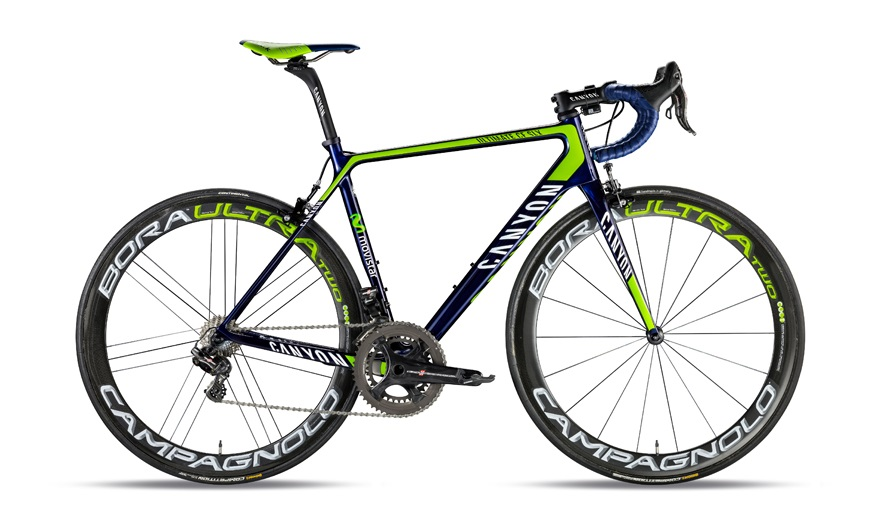 2015 Canyon Bikes Preview Movistar Team Bike Canyon