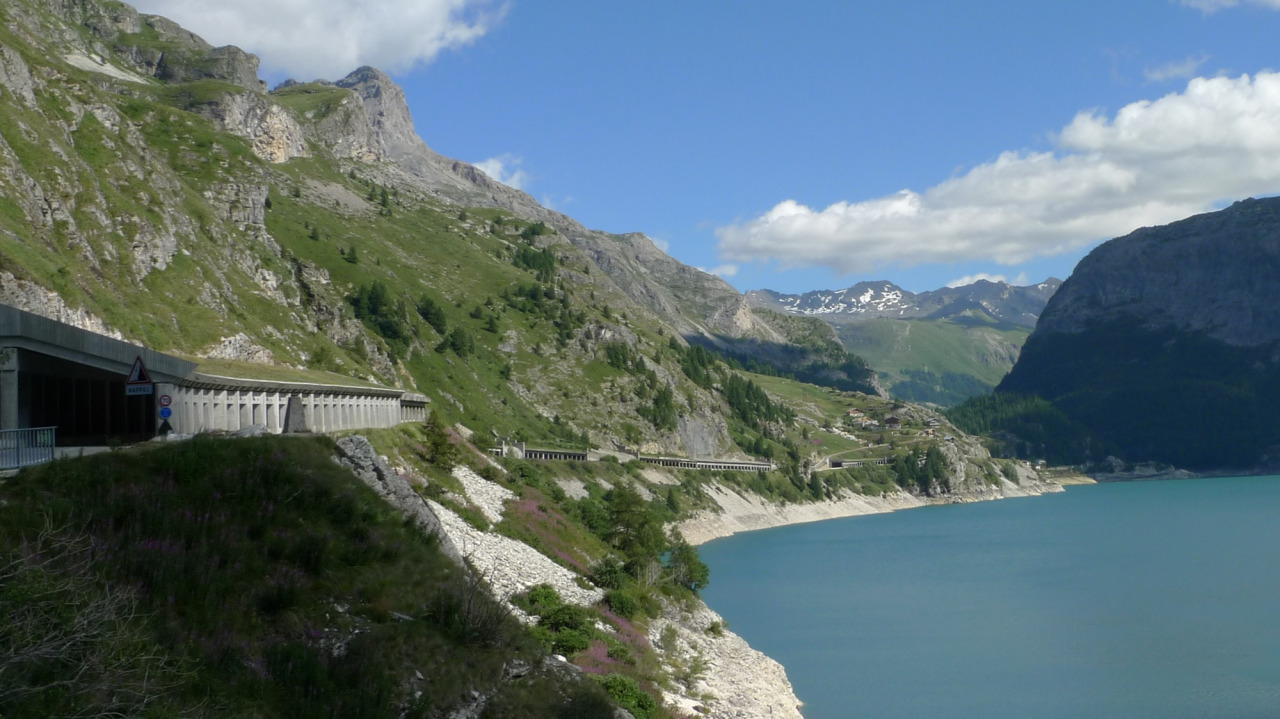 Lac Tignes Iseran Lake