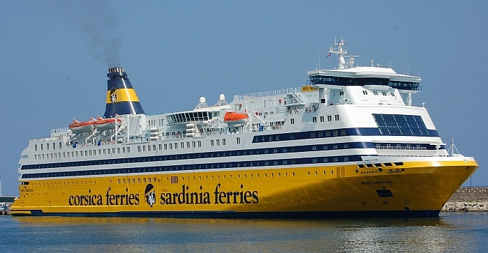 Corsica Tour de France ferry