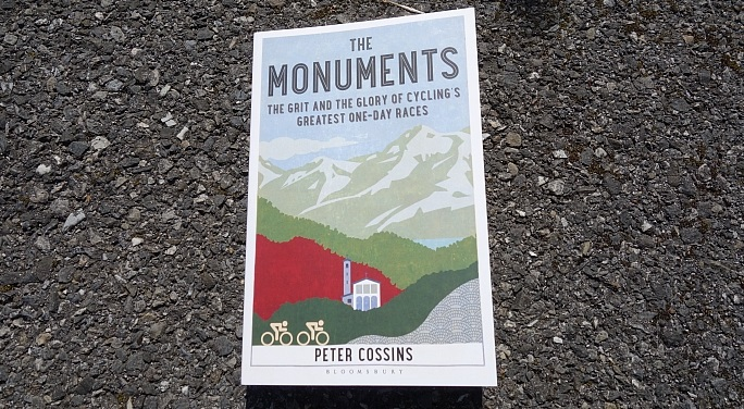 Photo: The Monuments – The Grit and The Glory of Cycling's Greatest One-Day Races by Peter Cossins...