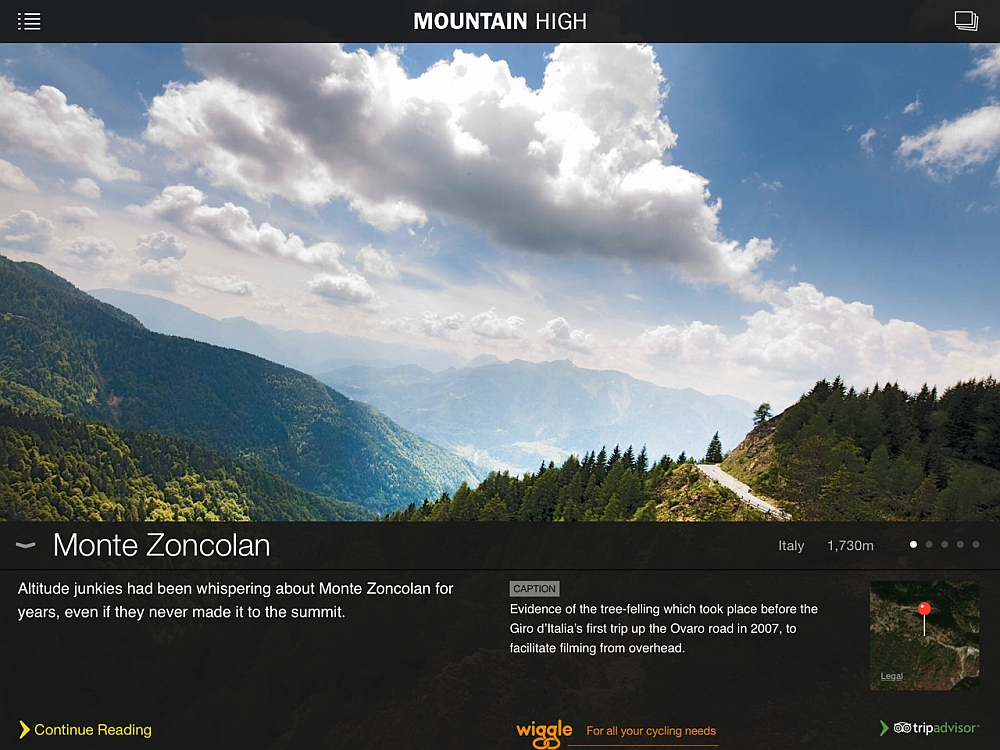 Mountain High App