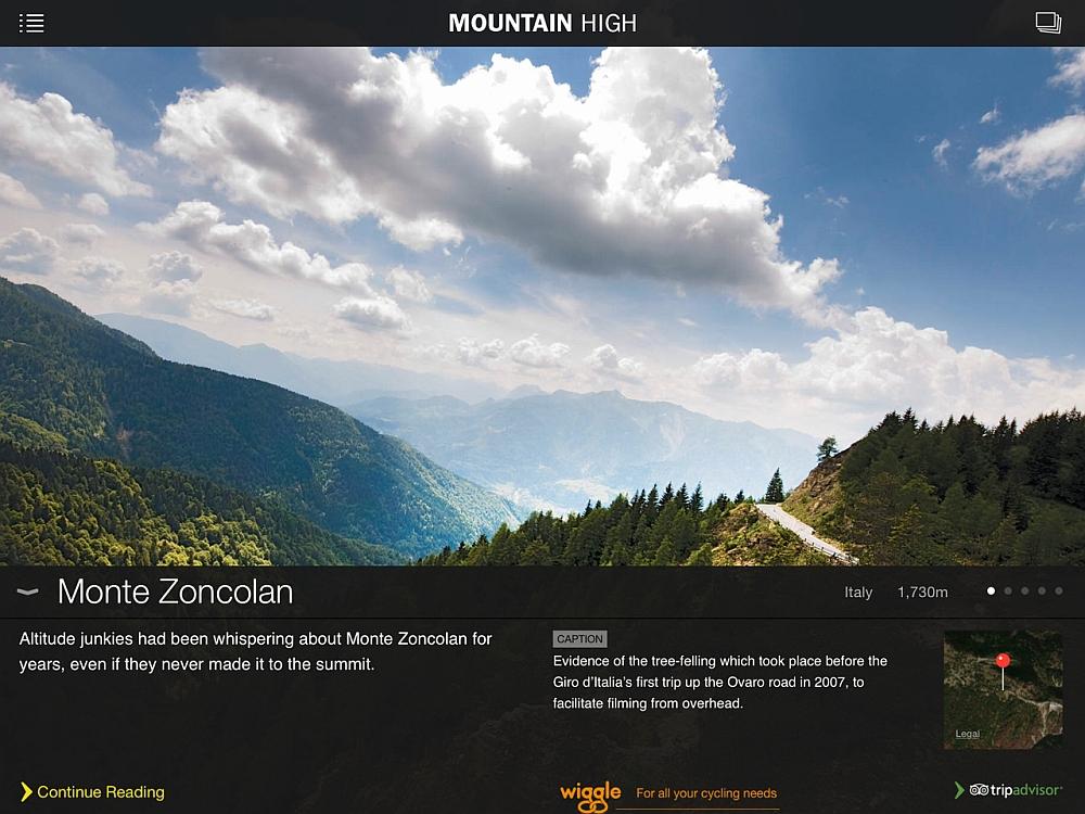 Mountain High App