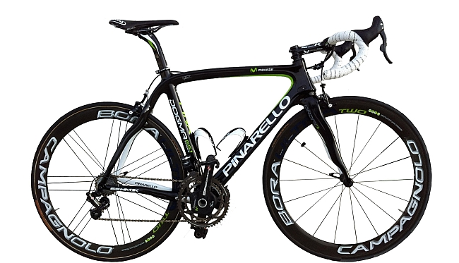 Movistar Pinarello bike