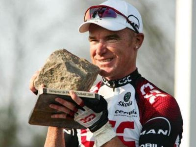 Paris Roubaix trophy
