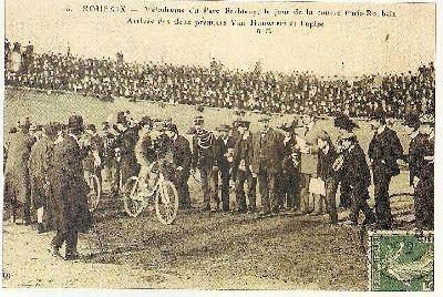 Roubaix Postcard