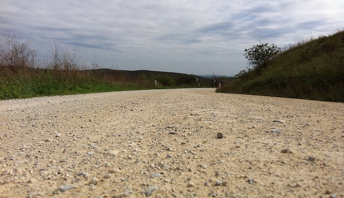 Strade Bianche surface