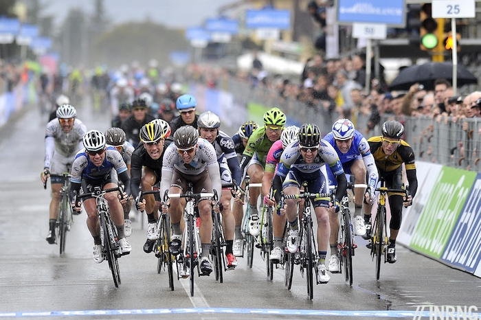Stage 2 Tirreno Adriatico Goss win