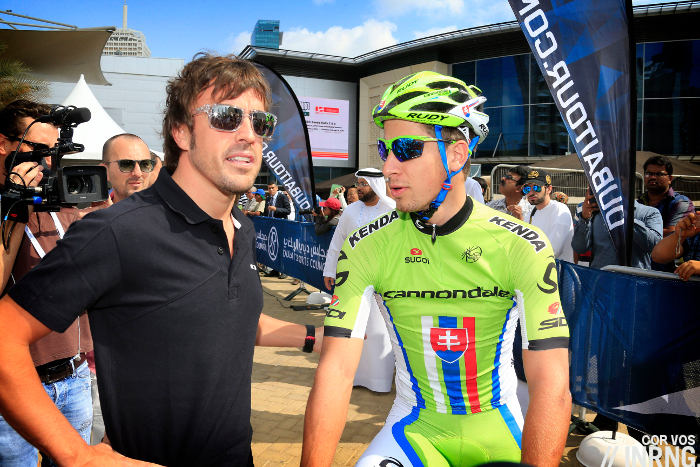 Fernando Alonso Peter Sagan