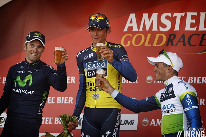 Photo: Amstel Gold is a brand of beer belonging to Heineken International.