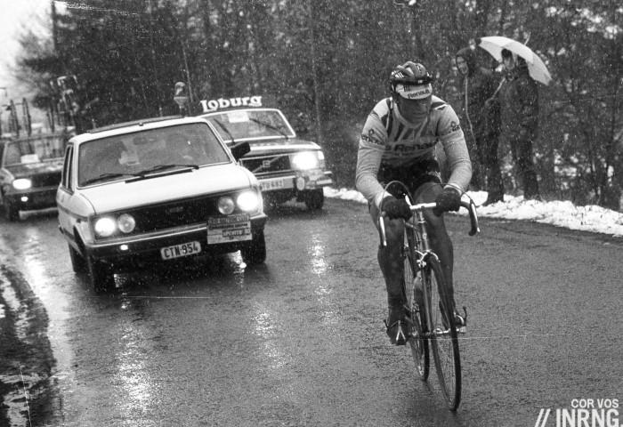 Bernard Hinault 1980 Liege Bastogne Liege