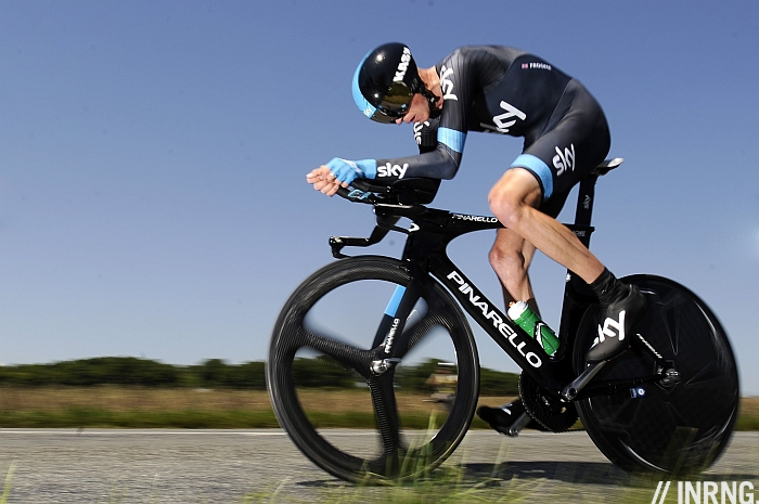 Chris Froome Dauphiné Time Trial