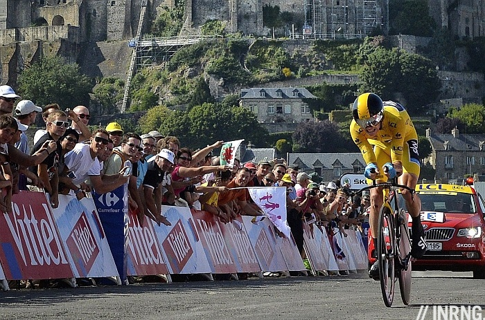 Chris Froome Mont St Michel Tour de France