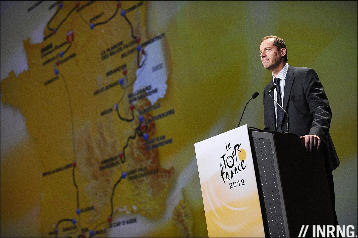 Christian Prudhomme Tour de France