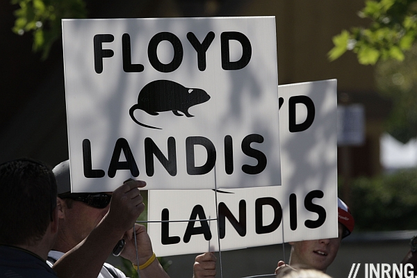 Floyd Landis Lance Armstrong