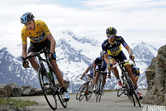 Col de Sarenne descent