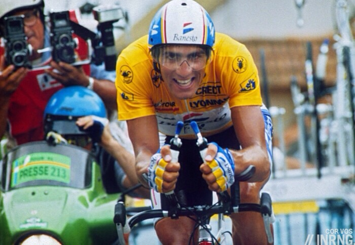 Photo: It's more than all three grand tours of 2015 combined. Back in 1992 Indurain won them all.