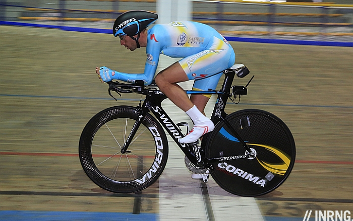 Photo: Vincenzo Nibali's time trial surprised many.