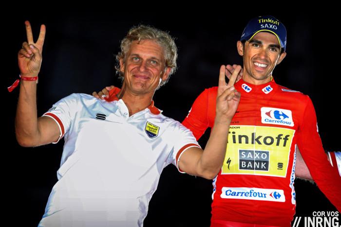 Oleg Tinkov Vuelta podium