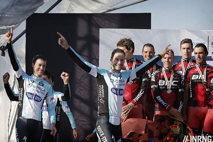 Photo: OPQS have won twice in a row but this year's edition looks more open with several teams able to challenge.
