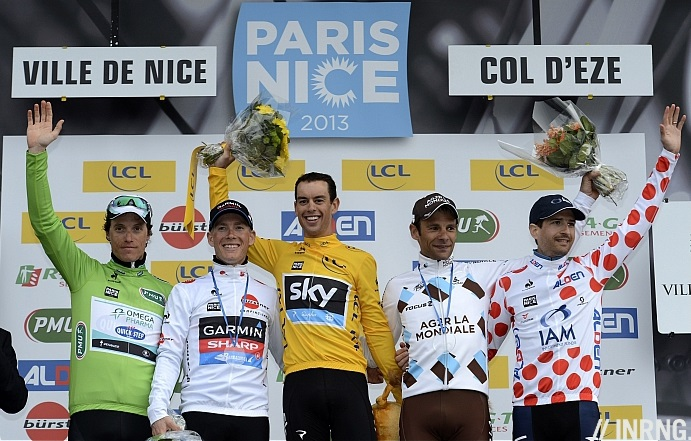 Photo: this year's Paris-Nice is a blank canvas where riders will have to take risks to win..