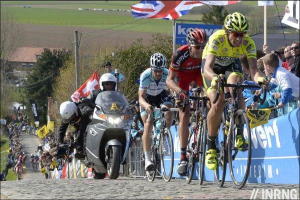 Pozzato Ballan Boonen Vlaanderen