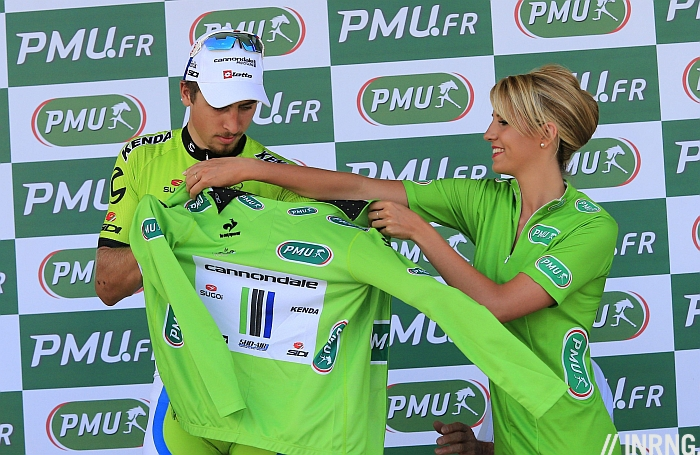 Peter Sagan green jersey