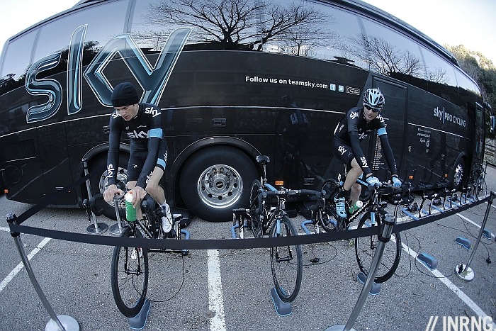 Team Sky Death Star Bus