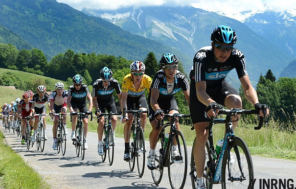 Team Sky Dauphine