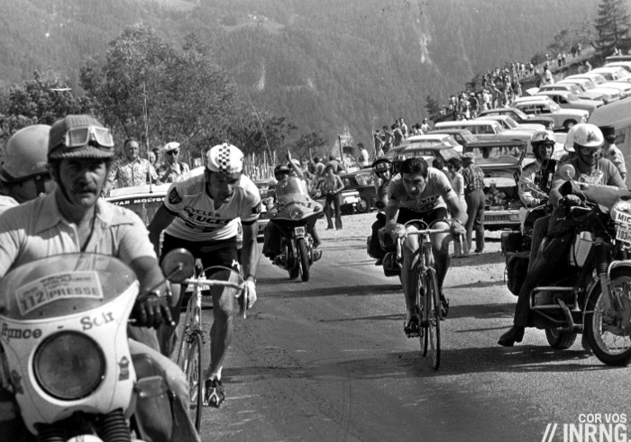 Thevenet Merckx Pra Loup 1975 Tour de France