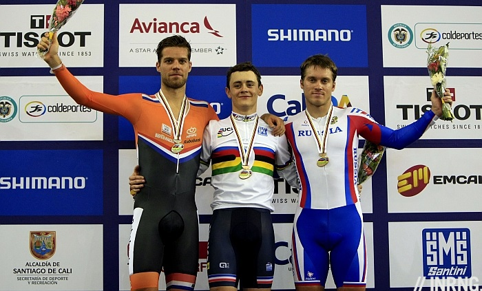 Photo: A second-year senior Boudat is a sprinter and reigning French university cycling champion...