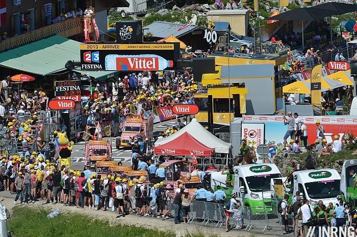 Tour de France arrival