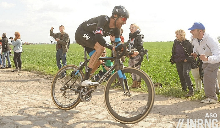 Bradley Wiggins Roubaix