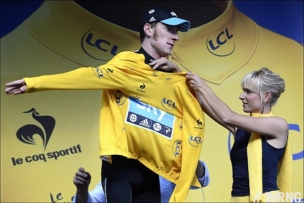 Tour de France podium jersey