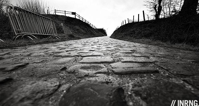 Belgian cobbles pave