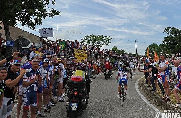 grand tour bike race spectating