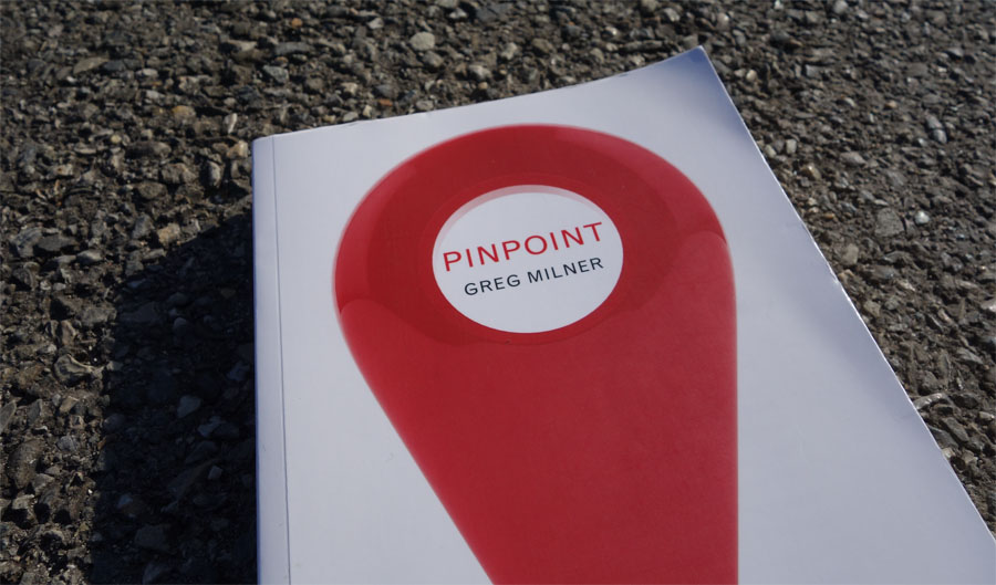 Pinpoint book by Greg Milner