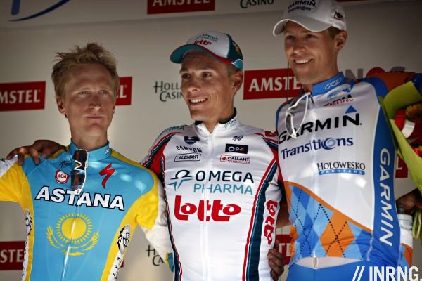 Amstel Gold Race podium