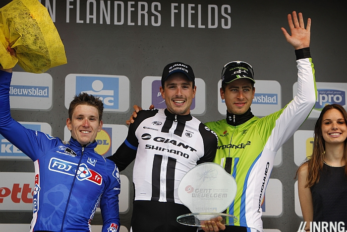 Gent Wevelgem 2014 podium degenkolb