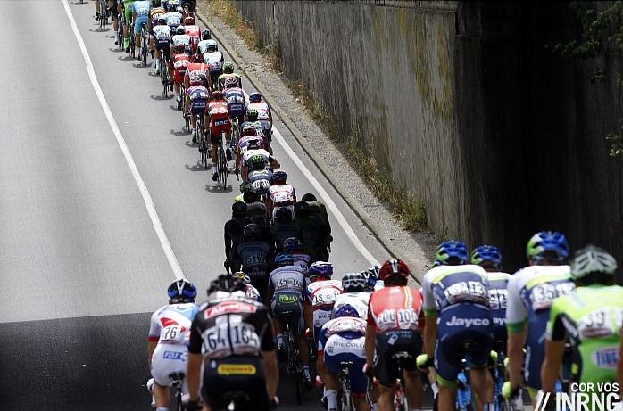Giro peloton