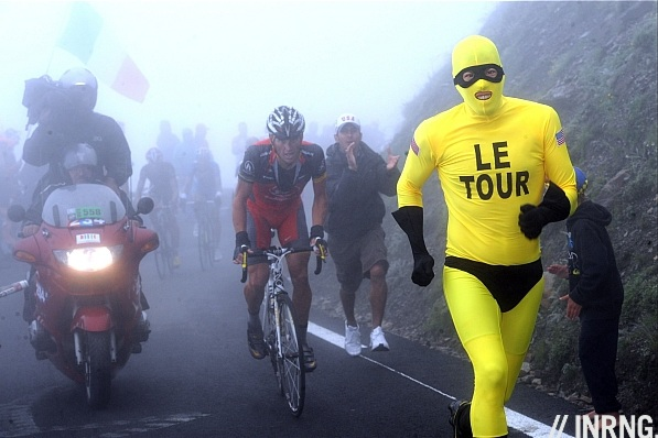 Lance Armstrong mist