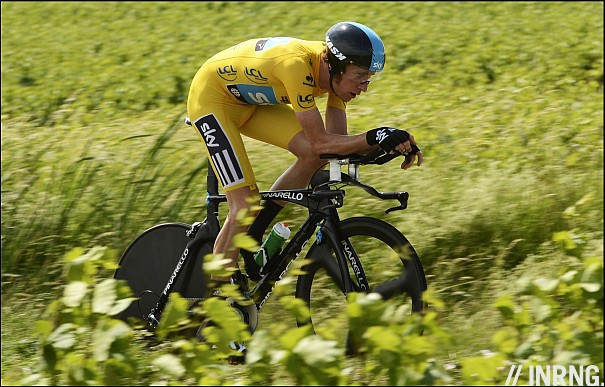 Wiggins time trial